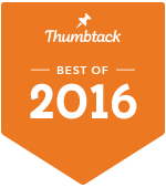 Thumbtack Best of 2016 Badge